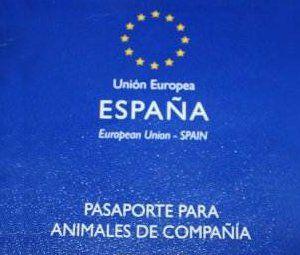 Documentos mascotas, pasaporte animales de compañía