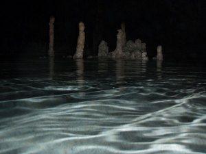 Ríos y lagos subterráneos