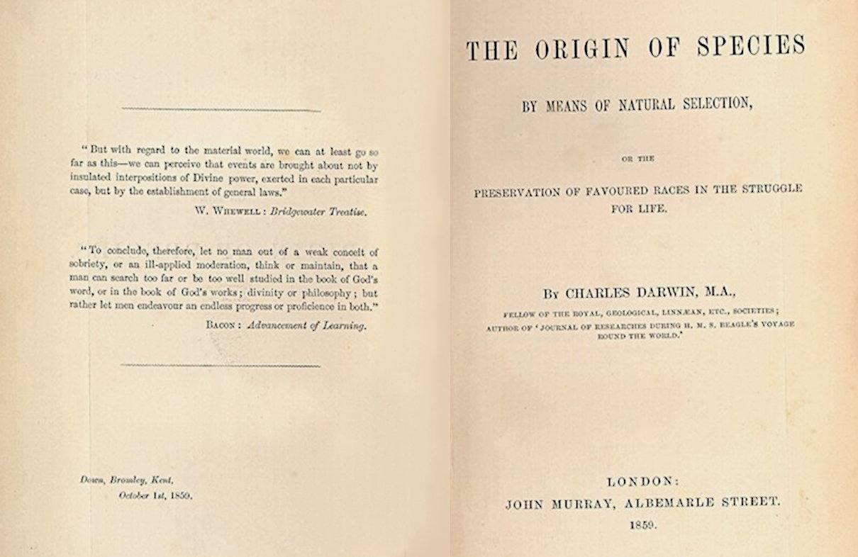 Teoría de la evolución de las especies (Charles Darwin)