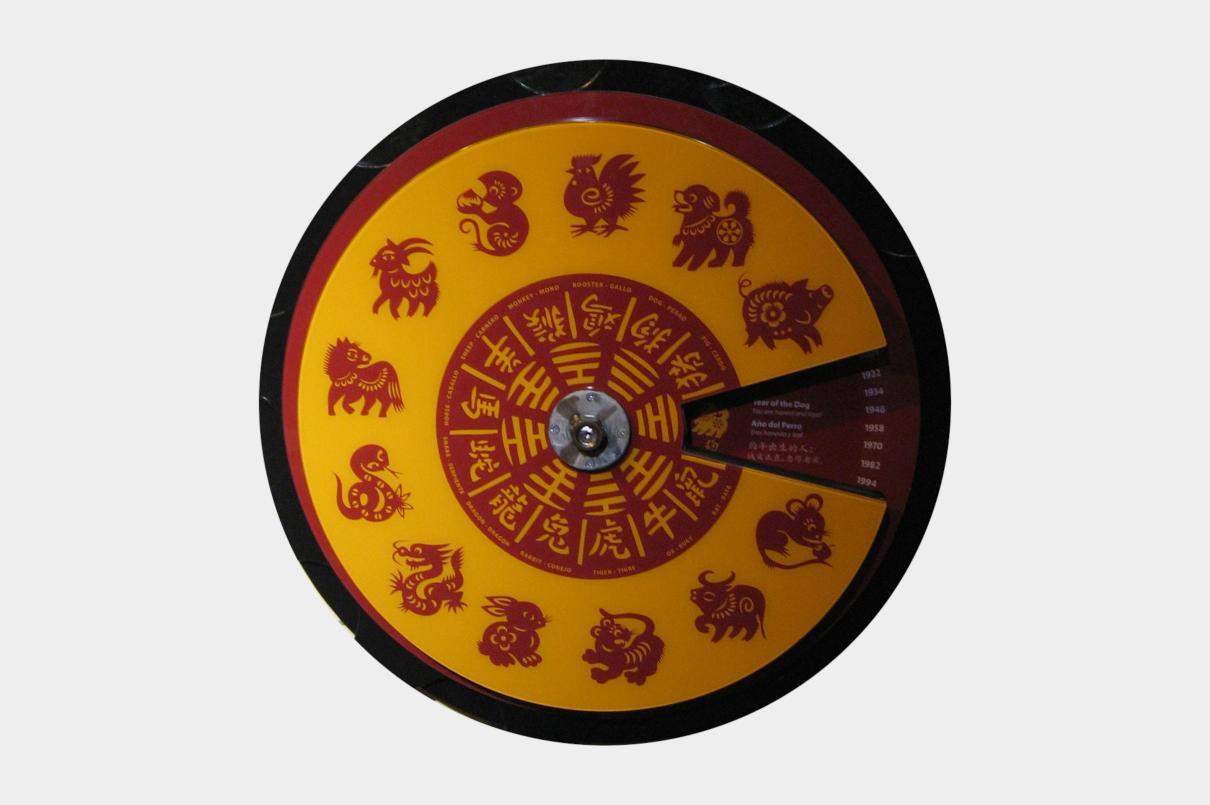 12 animales del horóscopo chino